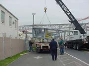 Bridge rigged and offloaded