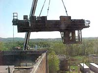 Crane hoisting bridge crane