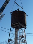 rigging water tower tank